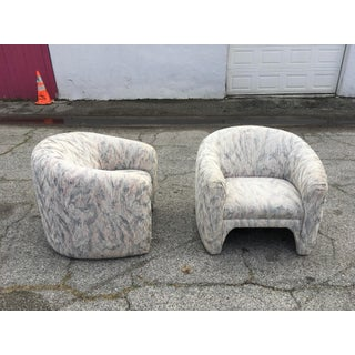 1980s Vintage Sculptural Steve Chase Lounge Chairs- A Pair Preview