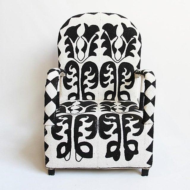 Beaded Yoruba Arm Chair - Image 2 of 5