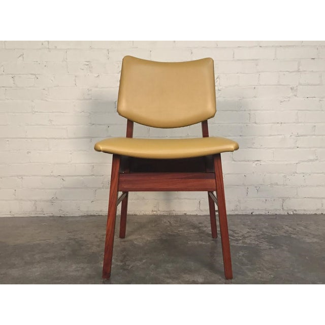 Jens Risom Style Mid-Century Modern Desk Chair - Image 4 of 8