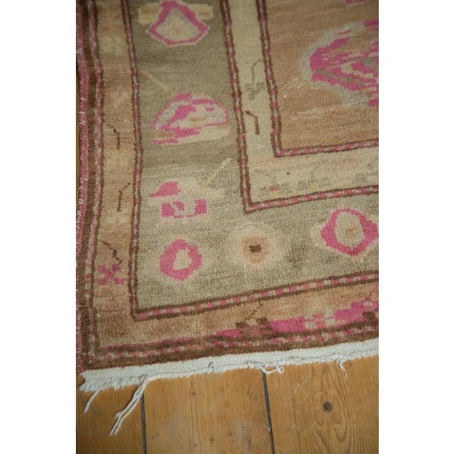 """Vintage Oushak Rug - 4' x 7'6"""" For Sale - Image 9 of 10"""