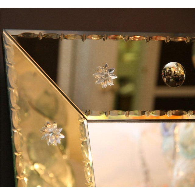 Modern Custom-Made Dot Mirror For Sale - Image 3 of 6