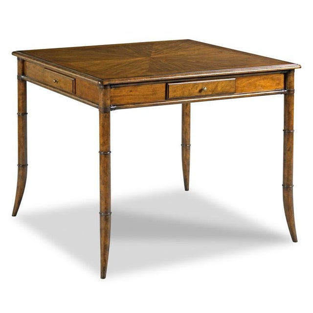 Transitional Modern Linwood Game Table For Sale - Image 3 of 3