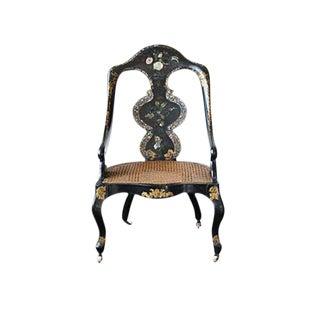 Papier Mâché Mother of Pearl Chair