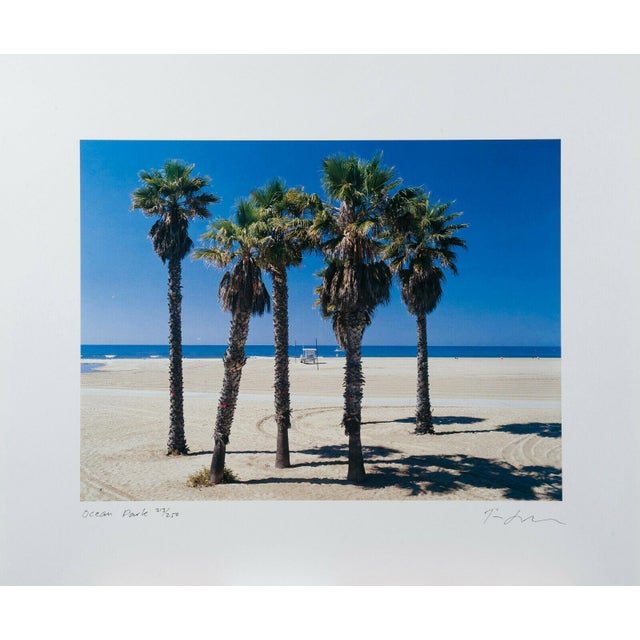 """2000 - 2009 Tim Street Porter """"Ocean Park"""" Lithograph Print Limited 86/250 Signed For Sale - Image 5 of 5"""