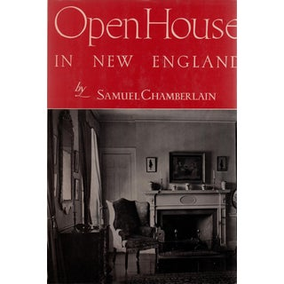 """1948 """"Open House in New England"""" Collectible Book For Sale"""