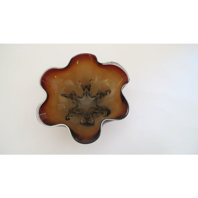 Hand Molded Glass Bowl - Image 2 of 5