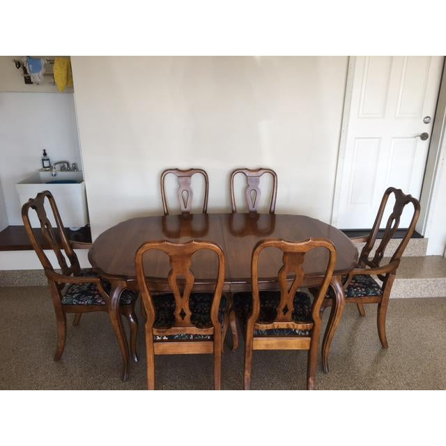 Ethan Allen Country French Dining Set - Image 2 of 11