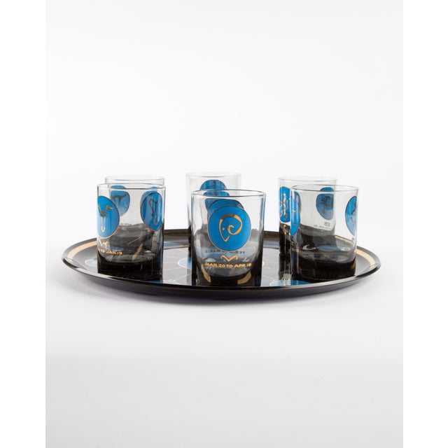 1960s 1960's Zodiac Barware Set For Sale - Image 5 of 10