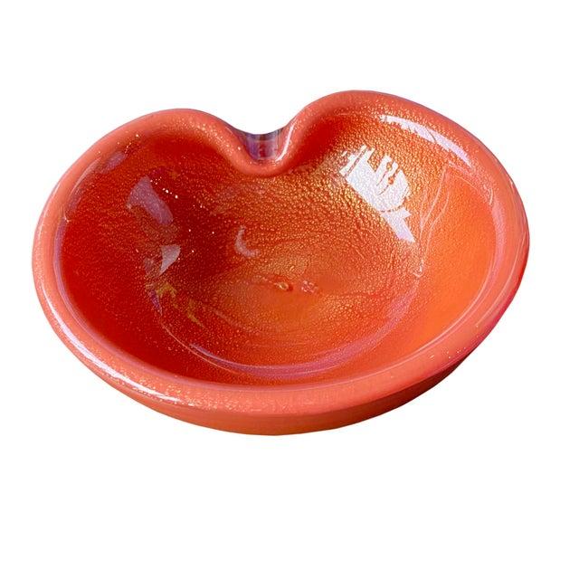 Mid Century Alfredo Barbini Bowl For Sale - Image 9 of 9