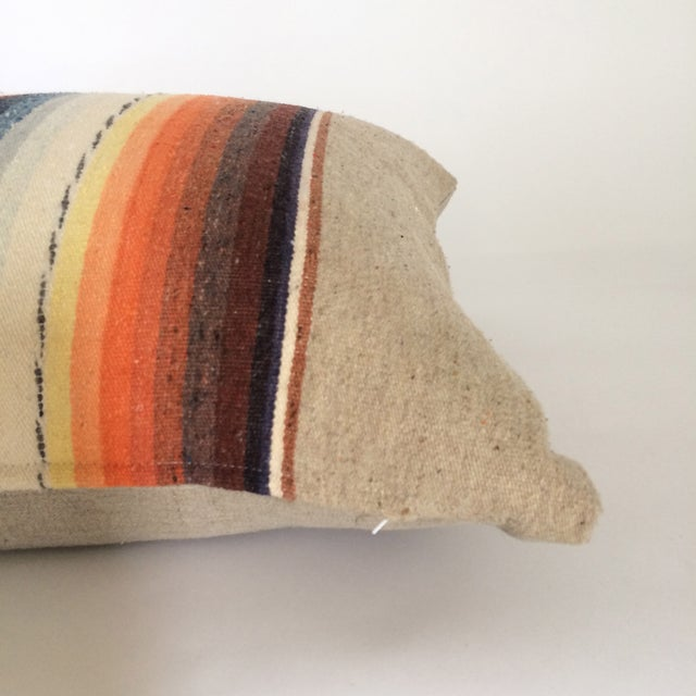 Sun Washed Sand Colored Vintage Pillow - Image 3 of 6