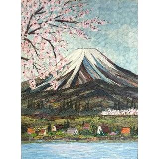 Fabric Landscape Textile Art For Sale