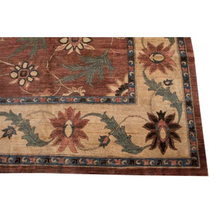 Late 19th Century Antique Arts & Crafts Design Hand-Knotted Rug - 12′ × 15′ Preview