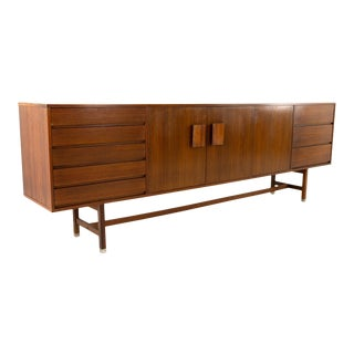 Mid Century Teak and Rosewood Credenza For Sale