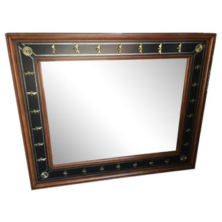 Theodore Alexander Empire Style Mirror For Sale
