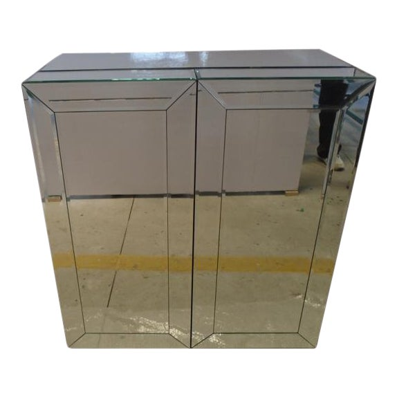 Mirrored Wine Bar Cabinet - Image 1 of 11