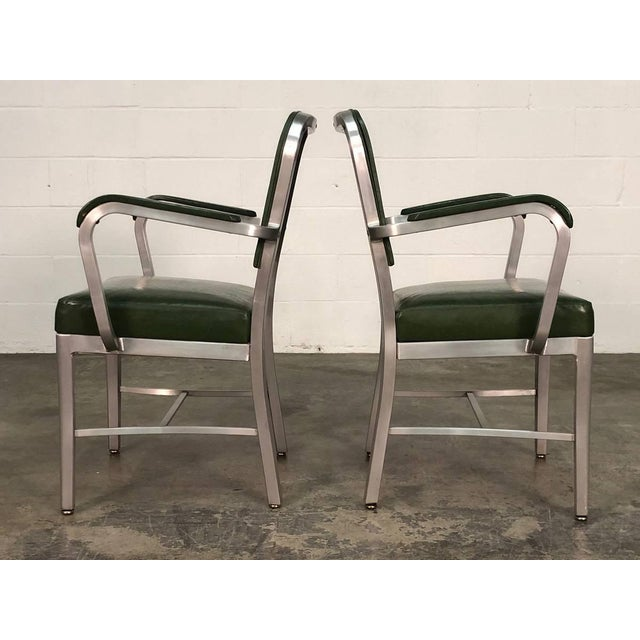 Industrial Mid-Century Industrial Office Chair by Cole-Steel ~ a Pair For Sale - Image 3 of 10