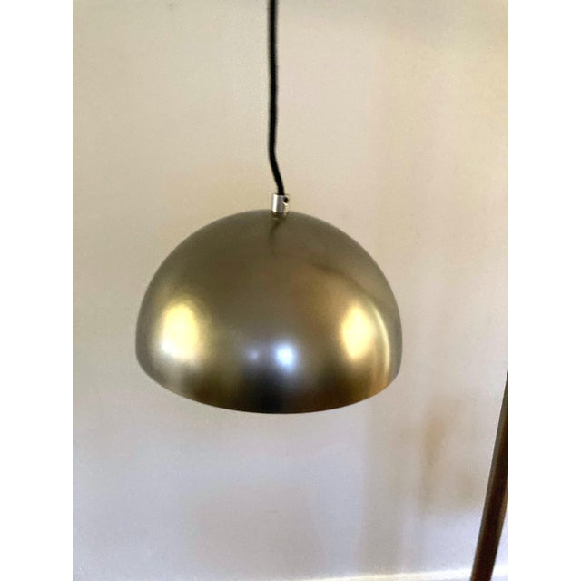 2010s Arteriors Home Jillian Vintage Style Silver Floor Lamp For Sale - Image 5 of 12