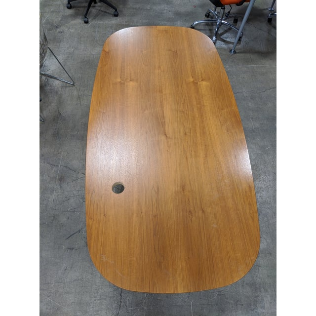 Metal Mid-Century Modern Eames Table/Writing Desk For Sale - Image 7 of 8