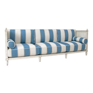 Magnus Grand Scale Gustavian Sofa
