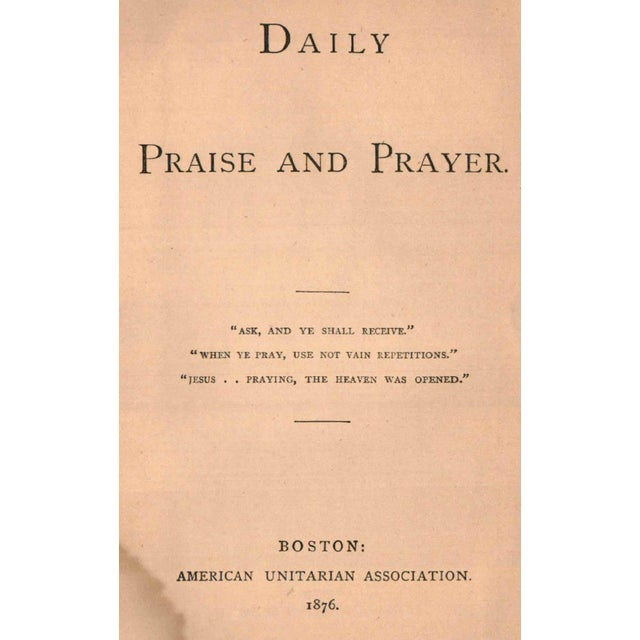 Traditional Daily Praise And Prayer For Sale - Image 3 of 3
