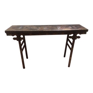 Chinoiserie Console Table For Sale