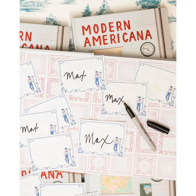 Make this hardcover, signed copy of design star Max Humphrey's latest book, Modern Americana, part of your collection....