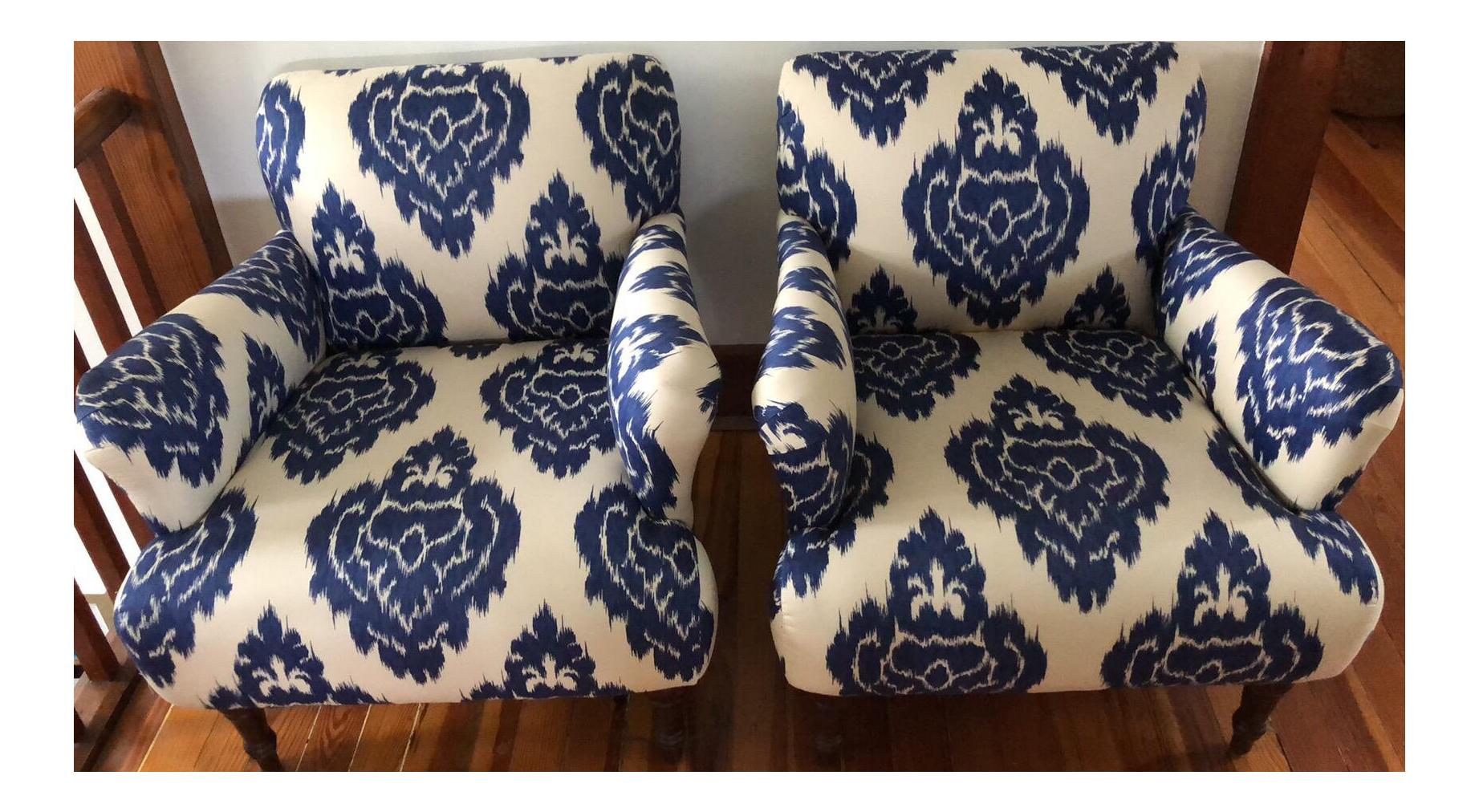 Merveilleux Modern Pottery Barn Hadley Arm Chairs  A Pair