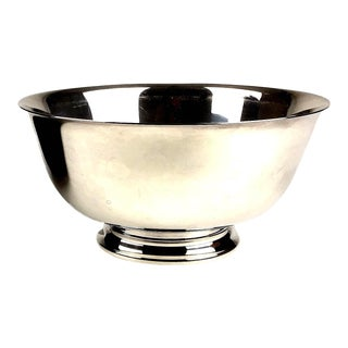 Reed & Barton Silver-Plate Revere Bowl For Sale