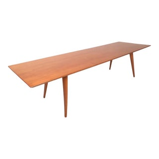 Paul McCobb Maple Coffee Table For Sale