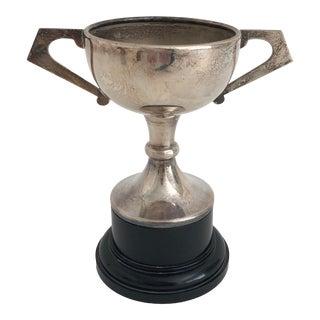 Vintage Silver Trophy Loving Cup For Sale
