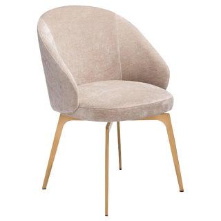 Amara Dining Chair - Beige Latte For Sale