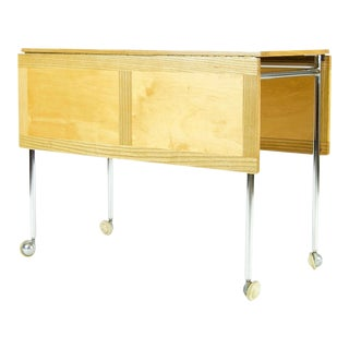 Mid-Century Modern Folding Cart by Bruno Mathsson For Sale