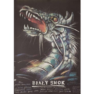 Legend of the White Horse 1987 Polish B1 Film Poster For Sale