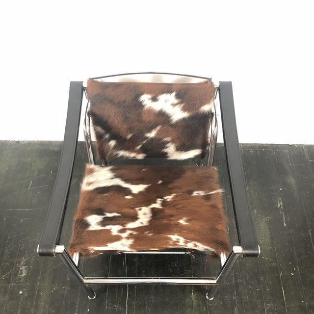Vintage Le Corbusier Cassina Lc1 Chair For Sale In San Antonio - Image 6 of 13