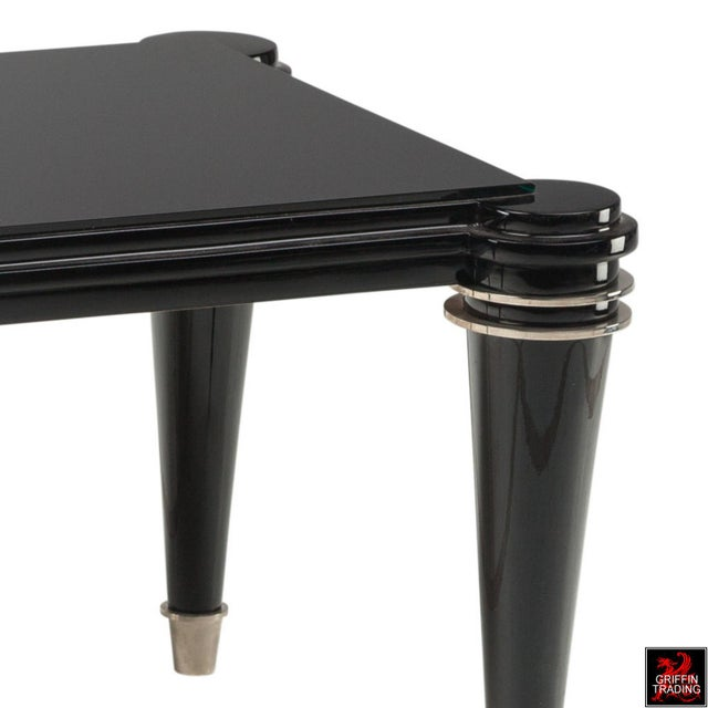 Jules Leleu French Art Deco Coffee Table For Sale - Image 4 of 5