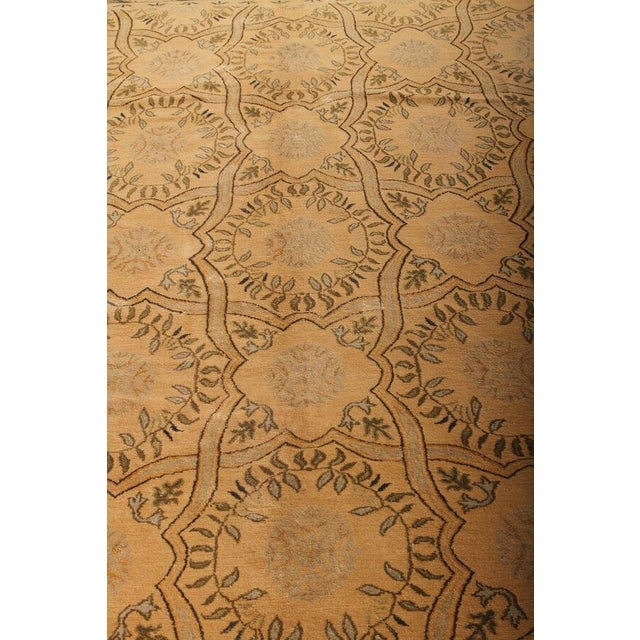 Transitional Hand Knotted Geometric Alcaraz Rug - 8′11″ × 12′ For Sale - Image 3 of 5