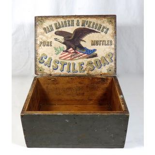 Antique American Country Store Soap Box Preview