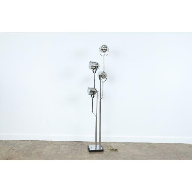 Reggiani Four Arm Chrome Floor Lamp - Image 2 of 7