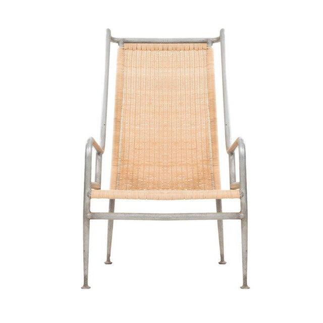 Aluminum Arturo Pani Prototype Magnesium/ Aluminum Chair For Sale - Image 7 of 7