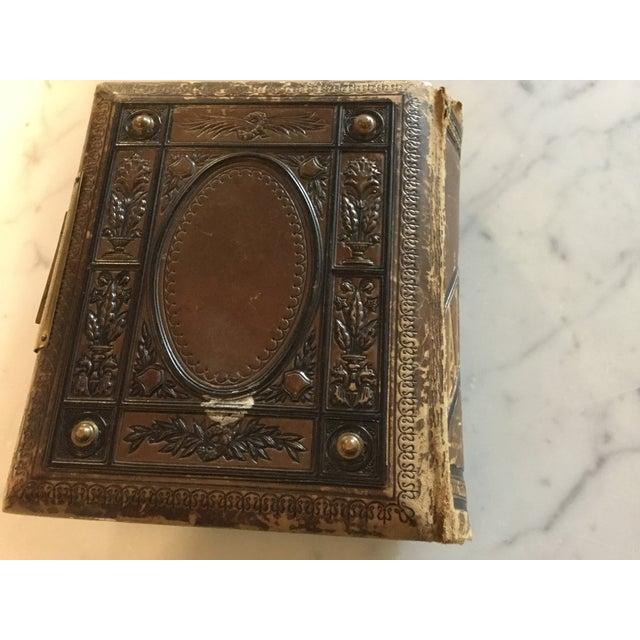 Antique Victorian Picture Album For Sale - Image 4 of 11