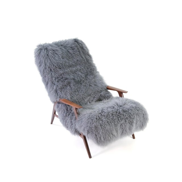 Jio Mobler Siesta Chair in Mongolian Sheepskin For Sale - Image 9 of 11