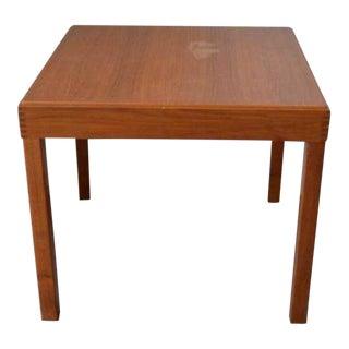 19th Century Danish Modern Kovby Rosewood/Teak Game Table For Sale