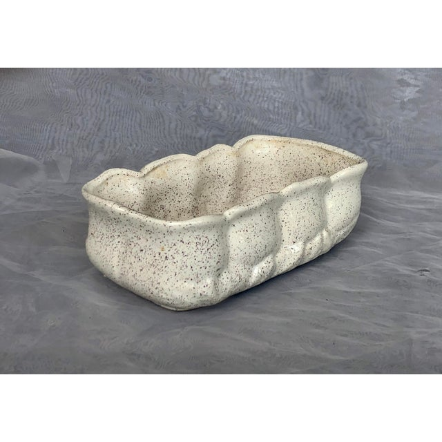Vintage 1950s Speckle Pottery Indoor Planter For Sale In New York - Image 6 of 12