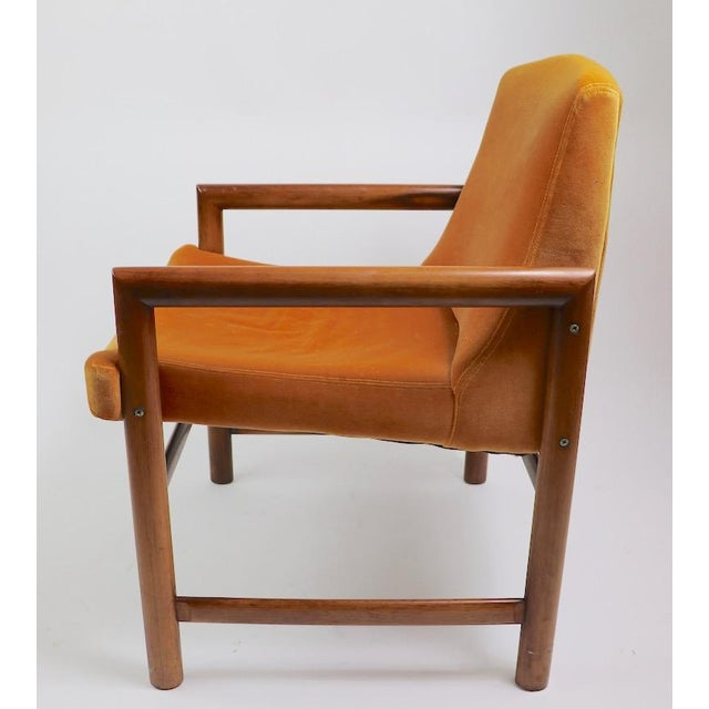 Set of 6 Rosewood Frame Dining Chairs by Baughman For Sale - Image 10 of 13