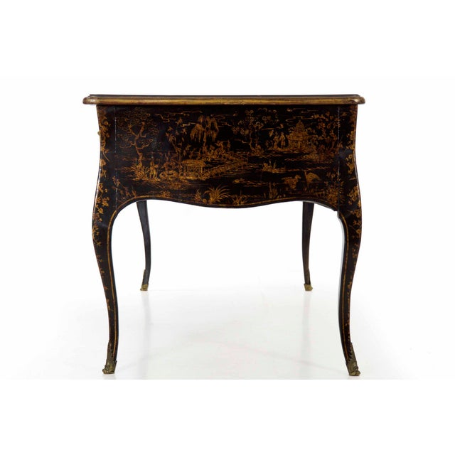 Such a fine and interesting writing desk, this is one of those very rare finds that remains in exquisite original...