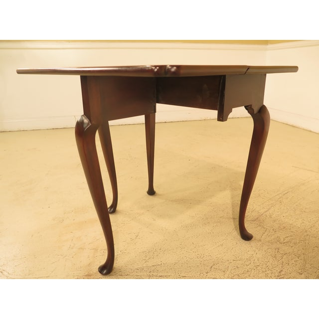 Wood Kittinger Drop Leaf Williamsburg Occasional Table For Sale - Image 7 of 10
