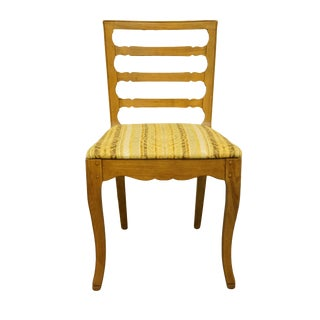Late 20th Century Vintage Drexel Heritage Country French Dining Side Chair For Sale
