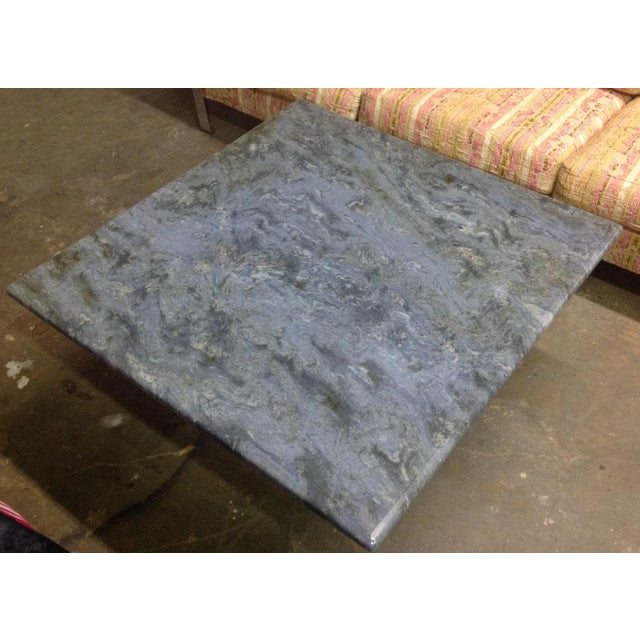 Blue Brazilian Quartzite Coffee Table For Sale - Image 4 of 6