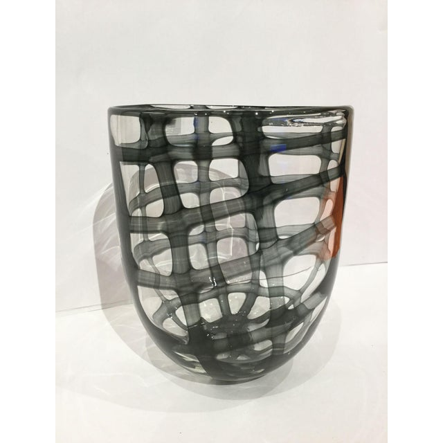 Roost Glass Swirl Vase - Image 2 of 4