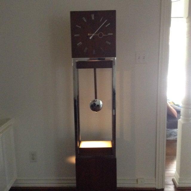 Mid Century Modern Floor Clock Chairish